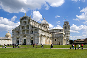 Duomo di Pisa in the sun day