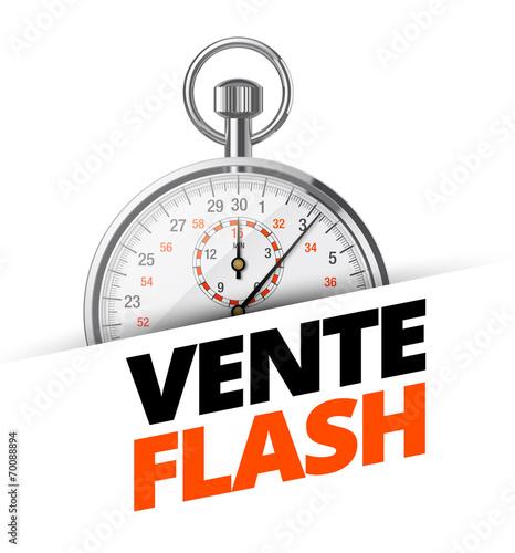 Vente flash 1 fichier vectoriel libre de droits sur la banque d - Vente flash televiseur ...