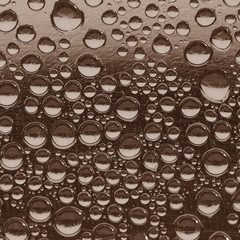 Sepia Water Drops