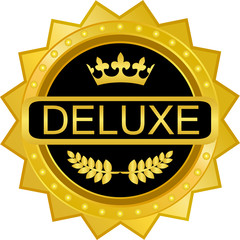 Deluxe Gold Badge