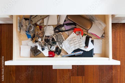 Leinwanddruck Bild drawer