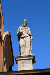 Girolamo Fracastoro Statue - Verona Italy