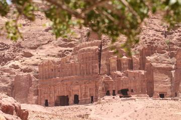 Antiche tombe a Petra