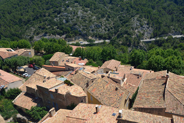 Le Barroux, Provence, France