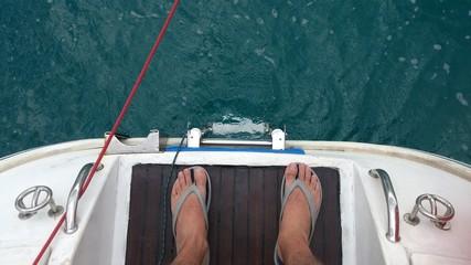 Prepara para saltar al mar.