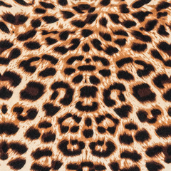 texture of fabric striped leopard
