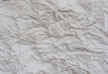 texture of wrinkled white paper