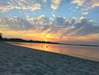 canvas print picture - Sundown