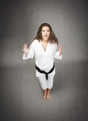 unbelievable face for judoka