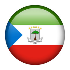 Equatorial Guinea flag button