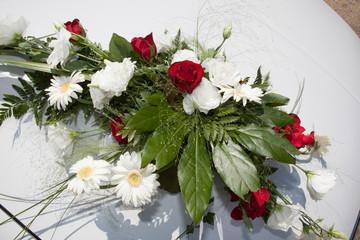 Bouquet coloré champêtre