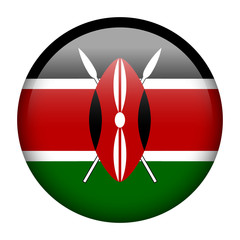 Kenya flag button