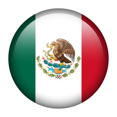Mexico flag button