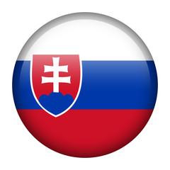 Slovakia flag button