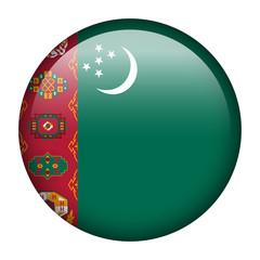 Turkmenistan flag button