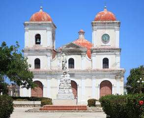 San Fulgencio Church at Gibara, Holguin, Cuba.
