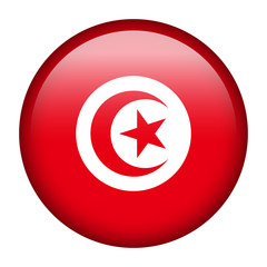 Tunisia flag button