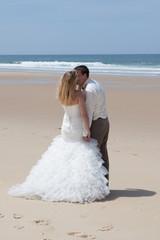 Romance à la plage