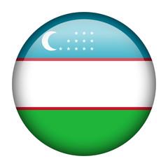 Uzbekistan flag button