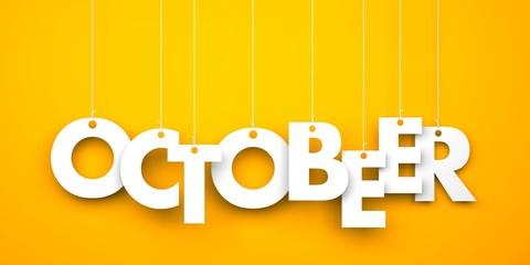 OctoBEER. Octoberfest metaphor