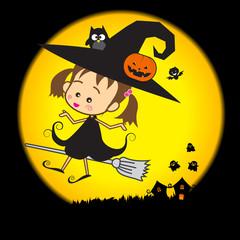 Halloween Little Wizard 002