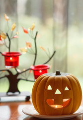 Pumpkin on the Heloween day
