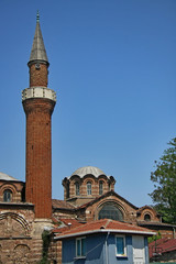 Istanbul church and mosque