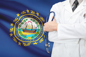 US national healthcare system - state of New Hampshire