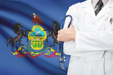 Concept of US national healthcare system - state of Pennsylvania