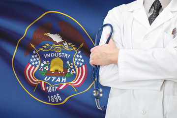 Concept of US national healthcare system - state of Utah