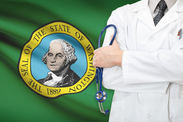 Concept of US national healthcare system - state of Washington