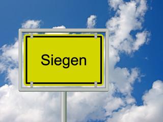 Siegen - Ortsschild