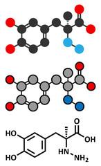Carbidopa Parkinson's Disease drug.