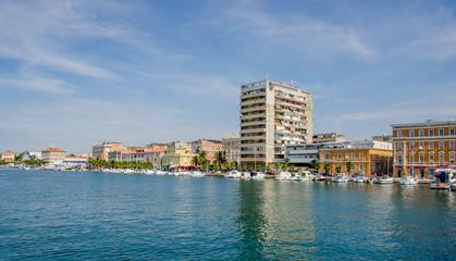 Der Hafen von Zadar
