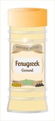 Ground Fenugreek Jar