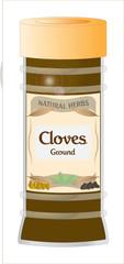 Ground Cloves Jar