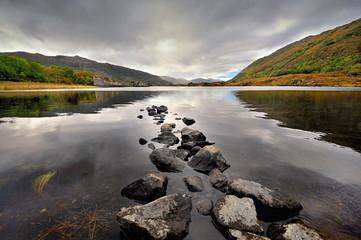 Irlandia, okolice killarney, krajobraz wiejski