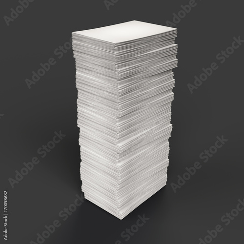 canvas print picture Paper stack