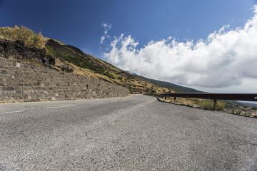Strada dell'Etna - Sicilia, Italia