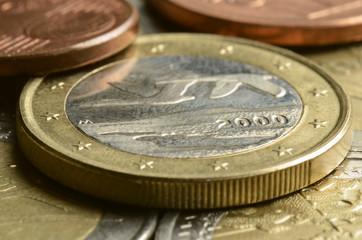 Suomalaiset eurokolikot Finnish euro coins Finnische Euromünzen