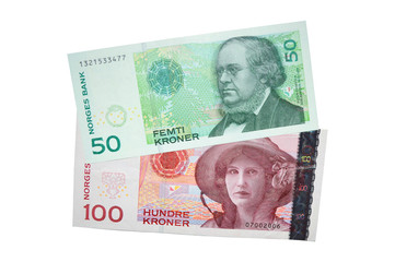 Norwegian kroner currency