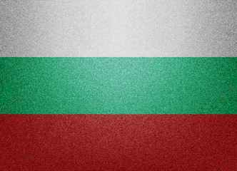Denim Bulgaria flag
