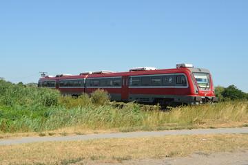 Nahverkehrszug in Subotica, Serbien