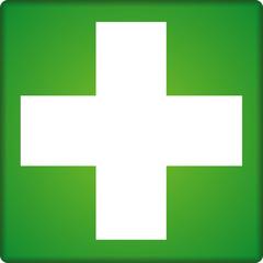 Rettungszeichen, Kreuz