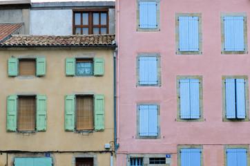 Mirepoix facades