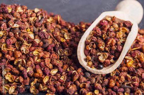 Foto op Plexiglas Kruiderij Szechuan peppercorns - Sichuan pepper