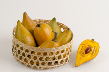 Egg fruit, Canistel, Yellow Sapote.