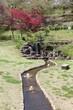 Himeji, Japan - Nagoyama Cemetery gardens