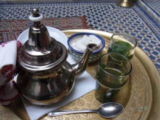 モロッコ お茶