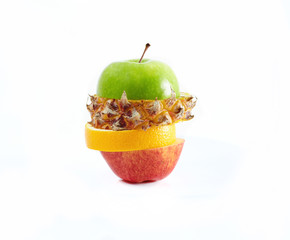 Sliced multifruits